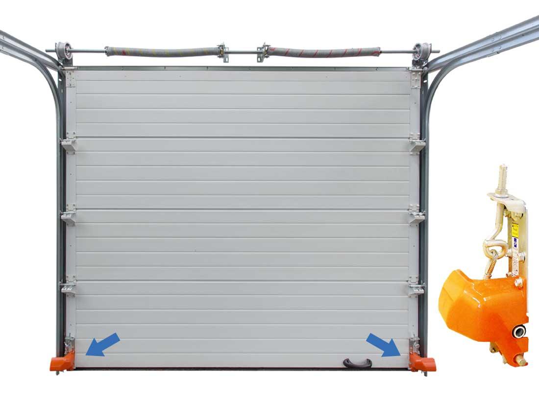 Garagen-Sektionaltor mit Paneelstärke 60mm – V&O Company